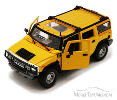 car jeep png hummer h2 suv yellow maiesto 34231 1 27 scale diecast model