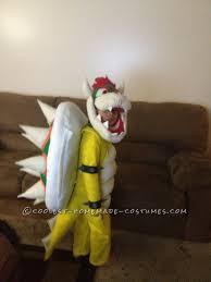 4 Boy Halloween Costumes Cool Diy Bowser King Koopa Halloween Costume Boy