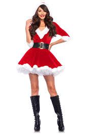 leg avenue mrs claus 2 piece costume