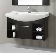 48 inch single sink floating vanity cabinet