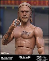 jax teller hair product sons of anarchy jax teller sixth scale figure by pop culture