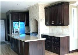 kitchen colors with dark cabinets kitchen designs with dark cabinets small kitchen dark cabinets image