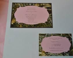 Camo Wedding Invitations Camo Wedding Etsy