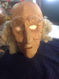 old man mask for halloween clothing shoes accessories costumes reenactment theater costume