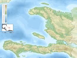 Haiti Map Haiti Blank Map With Topography U2022 Mapsof Net