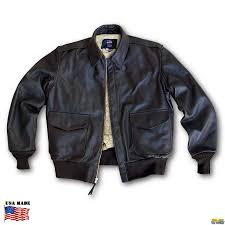 motorcycle coats horsehide leather jacket bomber a 2