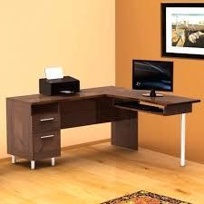 ikea l shaped desk silver modern lshaped computer desk frosted