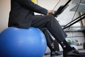 Balance Ball Chair With Arms Types Of Exercise Balls For Workouts