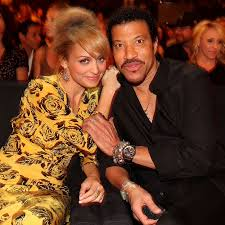 lionel richie home nicole richie at lionel richie and friends concert pictures