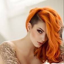 golden apricot hair color orange hair dye bright light dark on dark hair red brown