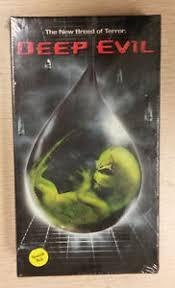 deep evil vhs 2005 spanish dub new sealed free shipping movie