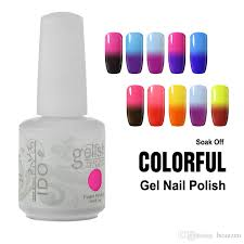 ido gelish temperature gel nail art soak off uv led gel nail