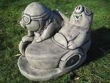 pigs ornaments sculptures statue garden ornaments ebay