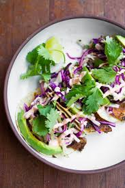 quick grilled fish tacos w cilantro lime cabbage slaw feasting