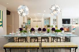 dining room table decorating ideas glass dining room table decor and modern glass