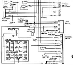 1988 gmc truck wiring diagrams fuse box wiring diagrams