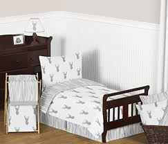 Silk Crib Bedding Set Sweet Jojo Designs Fitted Crib Sheet For Grey And White Woodland