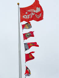 Chicago Flags Flag Story Blackhawks Win 2015 Stanley Cup Flagrunners
