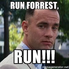 Run Forrest Run Meme - april 2017 jade alexis portfolio