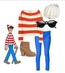 Wheres Waldo Halloween Costume U0027s Waldo Halloween Costume Give Hoot