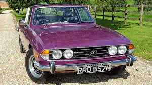 used triumph cars for sale motors co uk
