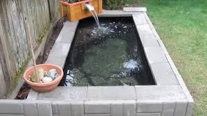 Homemade Backyard Waterfalls by How To Build A Homemade Garden Pond With Waterfall Feature From