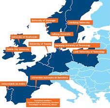 Map Of Monterrey Mexico by Eciu The European Consortium Of Innovative Universities