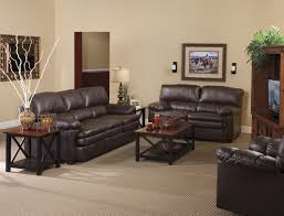 Leather Livingroom Sets Leather Sofa And Loveseat Set 3pc Princeton Tritone Burgundy
