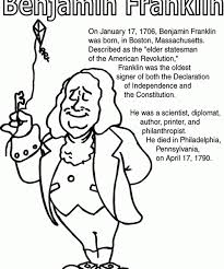 Ben Franklin Coloring Pages Franklin Coloring Pages Coloring Page Franklin Coloring Pages