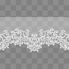 white lace white lace pattern white lace simple pattern border texture png