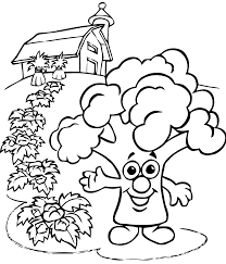 fruits legumes 4 fruits and vegetables coloring pages coloring
