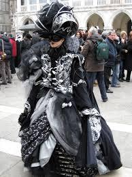 carnevale costumes masquerading at carnevale di venezia