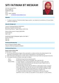 Sample Resume Yang Terbaik by Contoh Resume Offshore Free Resume Example And Writing Download