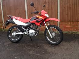 honda xr honda xr 125 trail riding video