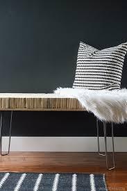 diy stacked plywood bench u2022 vintage revivals