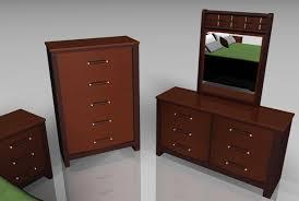 3d upscale bedroom furniture models poser format
