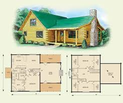 2 story cabin plans carolina log home and log cabin floor plan 3 bed room fireplace