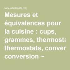 conversion mesure cuisine les règles de calcul pour les conversions de mesures américaines