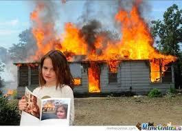 Fire Girl Meme - she s all grown up now still a demonic girl by snajath meme