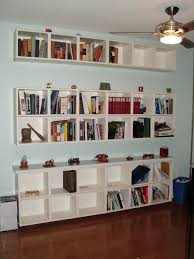 Kitchen Bookshelf Ideas by Interior Floating Bookshelves For Wall Decorating Idea