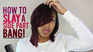 feathered front of hair feathered bang tutorial new style youtube