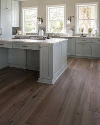 reclaimed wood floors transitional kitchen benjamin
