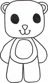teddy bear color teddy bear picnic colouring pages
