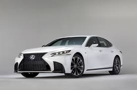 lexus is250 f sport fully loaded 2018 lexus ls 500 f sport adds visual aggression handling pack to