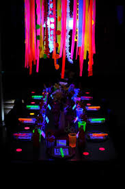 glow in the decorations 15 glow in the party ideas b lovely events