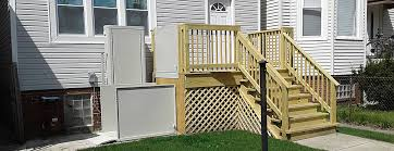 bruno porch lifts make a deck easily accessible