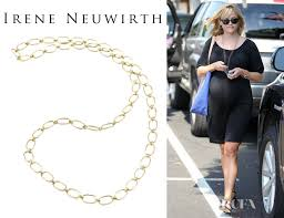 red chain link necklace images Reese witherspoon 39 s irene neuwirth gold large link chain necklace jpg