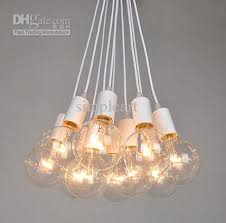 Light Bulb Chandeliers Edison Vintage Style 8bulbs Chandeliers L Ceiling Pendant