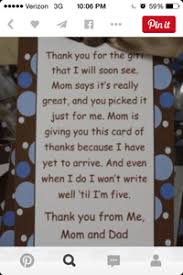baby shower question baby shower thank you card question may 2015 babies forums