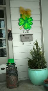 st patricks day front porch ideas sweet sorghum living keeping it